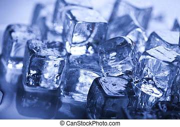 Transparent ice cubes - Ice can refer any of the 14 known...