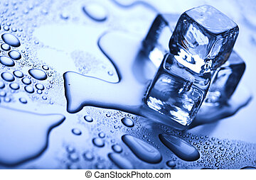 Ice background - Ice can refer any of the 14 known solid...