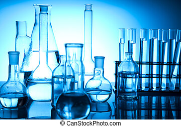 Equipment of a research laboratory - Chemical laboratory...