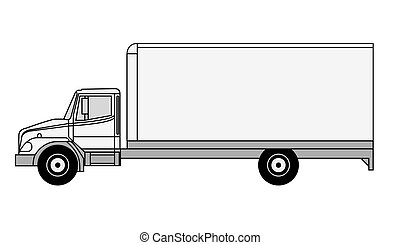 Vector truck - Detailed vector truck illustration -can be...