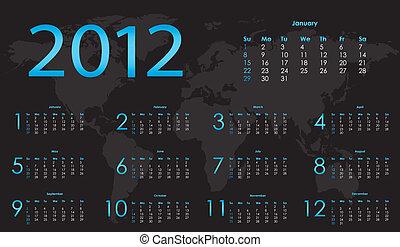 special calendar for 2012
