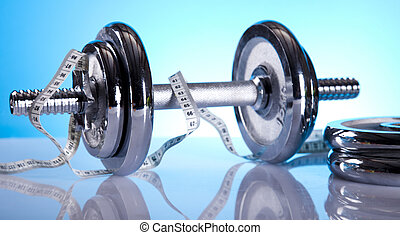 Weight loss, fitness - Fitness, Dumbbell