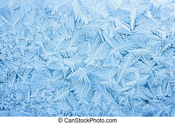 abstract frost background - abstract blue frost background...