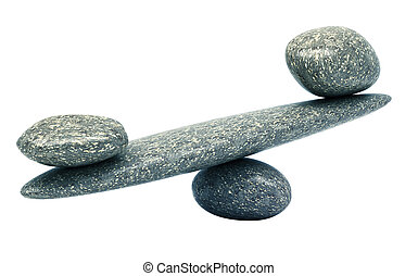 Pebble stability scales with stones