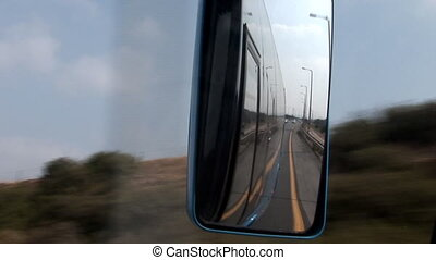 mirror - road to the rear view mirror