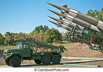 Antiaircraft rockets
