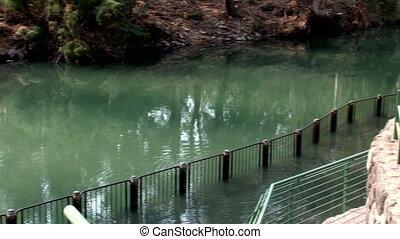 jordan 2 - river Jordan: place of baptism of pilgrims