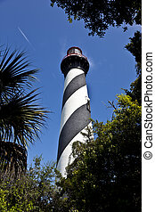 beautiful lighthouse from Saint Augustine in Florida