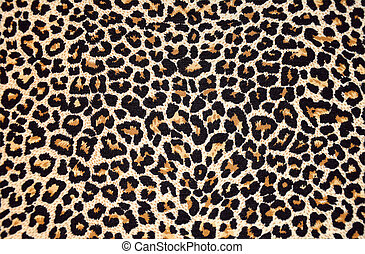 Extracto, textura, Leopardo, piel, (skin)