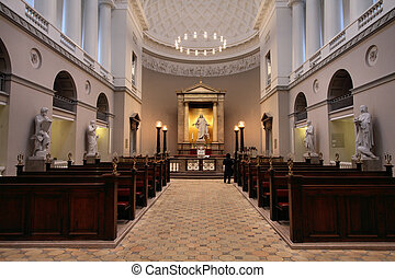 Copenhagen cathedral - Church of Our Lady - Copenhagen's...