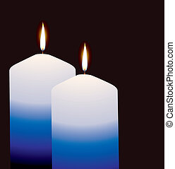 candles - vector candles