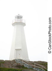 Cape Spear Lighthouse - Canada's most easterly point in...