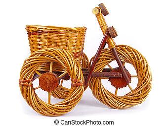 bicycle vase  -  bicycle vase