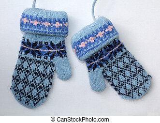 mittens - gloves baby - Little baby , accessories...