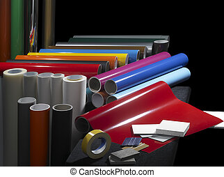 sign making materials - lots of sign making materials in...