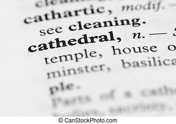 Dictionary Series - Cathedral