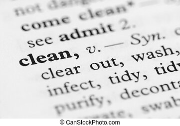Dictionary Series - Clean