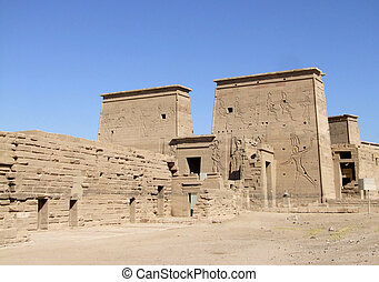 ancient temple of Isis