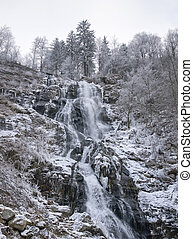 Todtnau Waterfall in the Black Forest - waterfall near...