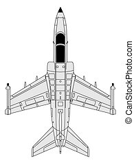 aermacchi - high detailed vector illustration of modern...