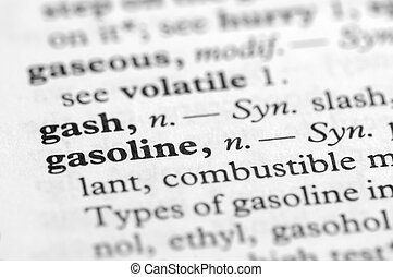 Dictionary Series - Gasoline