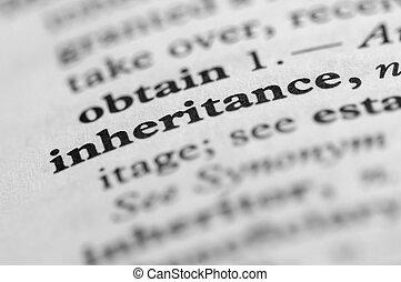 Dictionary Series - Inheritance