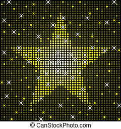 Sparkly star background