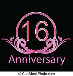 16th anniversary birthday