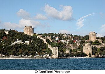 Rumeli Hisar Istanbul - the castle Rumeli Hisaru0131 in...