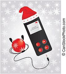 media player - Christmas edition
