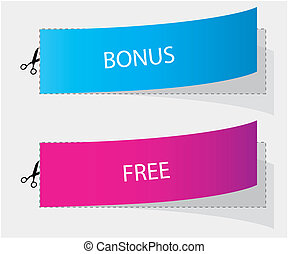 bonus and free labels
