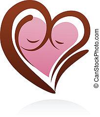 motherhood icon and symbol