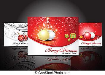 abstract christmas greeting