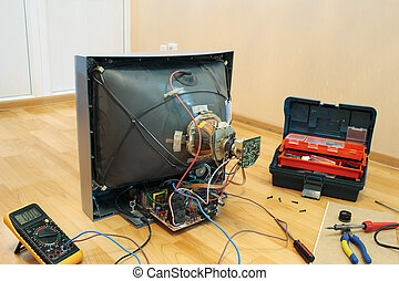 Renovation of the old TV.
