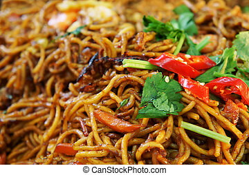 Mee Goreng - A traditional malay noodle, Mee Goreng...