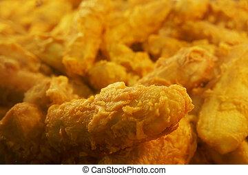 Deep fried fritters - Deep fried banana fritters , pisang...