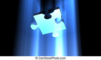 Business Solution Jigsaw - The final key jigsaw piece...