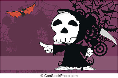 funny dead cartoon background10
