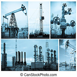 Oil industry. Oil extraction. - Oil and gas industry....