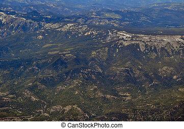 Ariel Mountain Cloud View