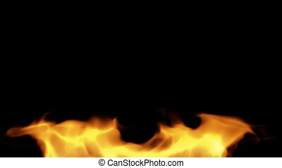 Fire element - Burning fire.