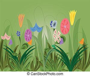 kruid, Bloemen, achtergrond