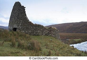 Scottish, ruina
