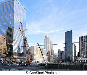 construction site at Ground Zero