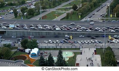 Pavel Konovalov - Highway traffic. Moscow. Russia.