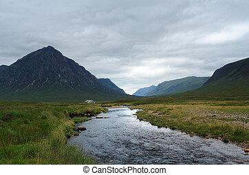 Rannoch Moor with small stream