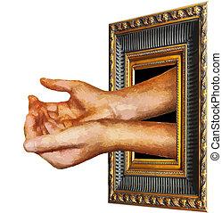Vector Art begging funds - Vector Artwork begging for...