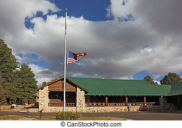 Tourist Information Center near the Grand Canyon