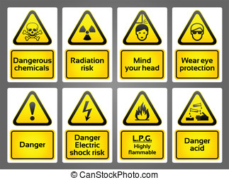 Warning Signs labels