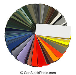 full spread color chart - studio photography of a full...
